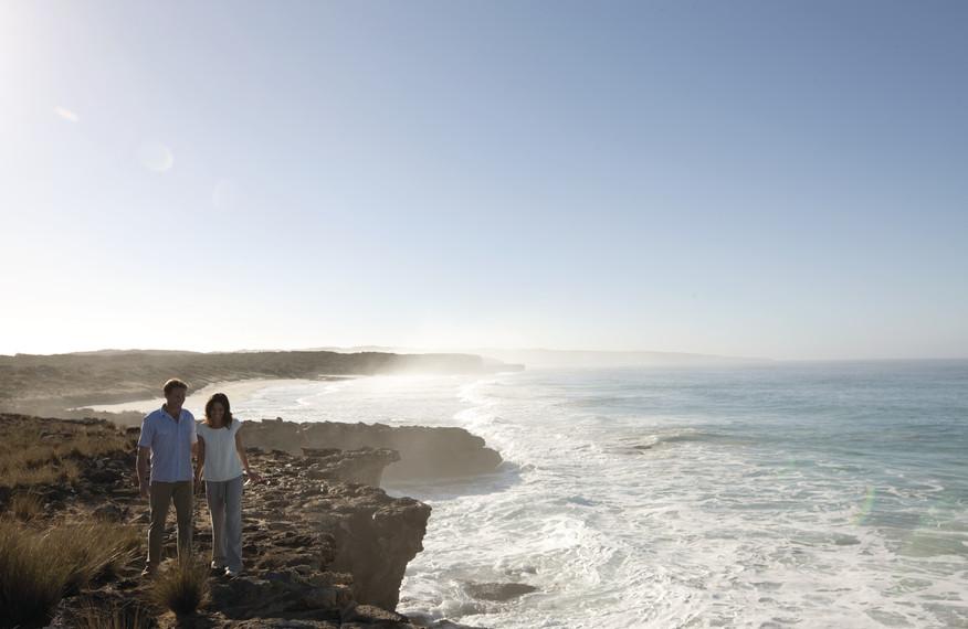 Coastline near Southern Ocean Lodge
