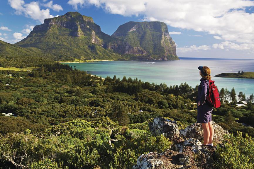 Hiking, Lord Howe Island, NSW