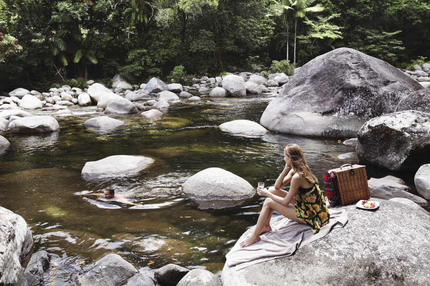 Picnic at Silky Oaks Lodge, The Daintree, QLD