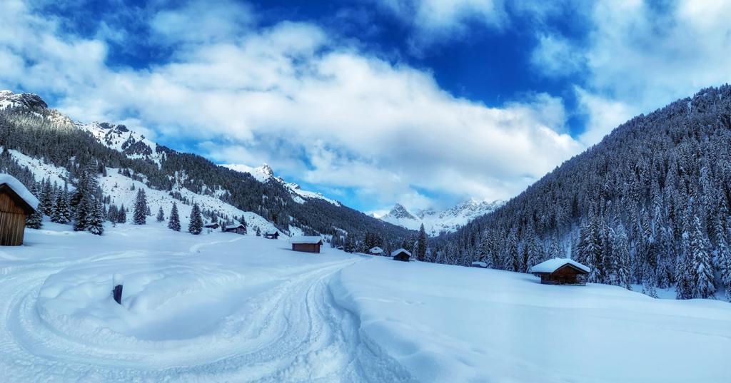 Dolomiti e Val di Fassa in inverno