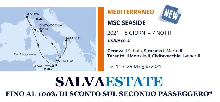 msc seaside nel mediterraneo crociere e vacanze in sicurezza